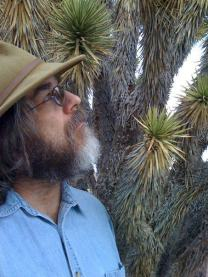 Chris Clarke with Joshua Tree